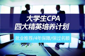 大学生CPA四大精英培养计划