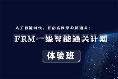 FRM一級智能通關計劃體驗班