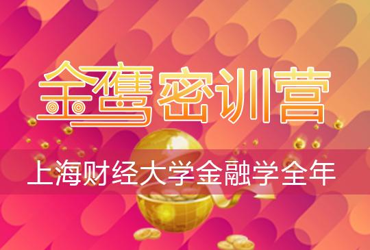 【金鷹密訓營】上海財經大學金融學(810)全年