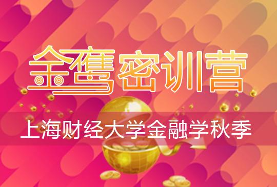 【金鹰密训营】上海财经大学金融学(810)秋季