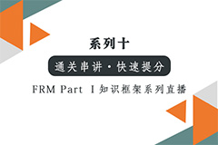 【FRM Part I 通关】知识框架系列-金融市场与产品中