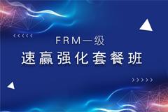 FRM一级速赢强化班+二级智能班