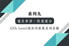 【CFA Level III 通关】知识框架系列-固收+衍生