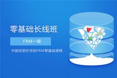 FRM一级零基础长线班