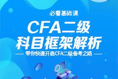 CFA二级科目框架解析(赠知识地图)