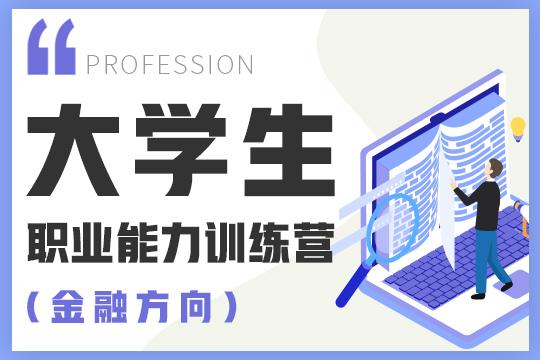大学生职业能力训练营(金融方向)