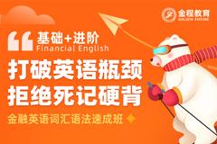 FRM金融英语词汇语法速成班(基础+进阶)