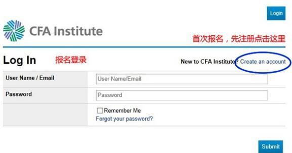 cfa官网报名登录