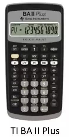 CFA协会计算器,CFA考生计算器,CFA考试计算器