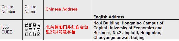 9月ACCA考试北京考场