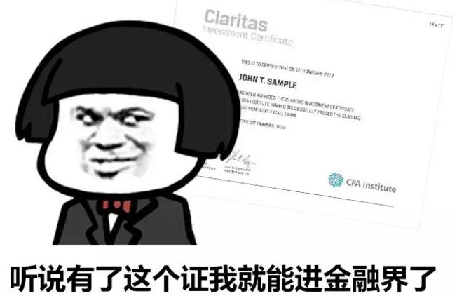 Mini CFA 金融证书介绍