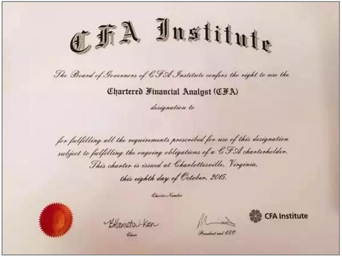 要不是CFA拦着大四之后才能报名,咱恨不得大一入校就给丫解决了。