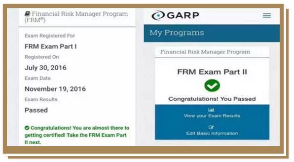 我是去年11月份通过的FRM一级,由于去年6月考过CFA一级,在FRM一级的备考过程中,CFA一级的数量分析
